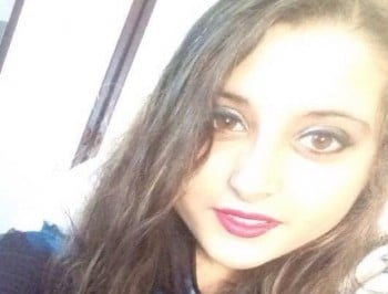 Teenager forced to stay awake for a week after a parasite burrowed into her eyeball.