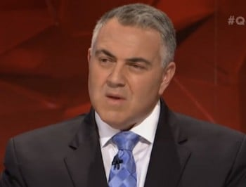 Treasurer Joe Hockey agrees to lobby states to ditch GST on tampons, sanitary items after question from student on Q&A.