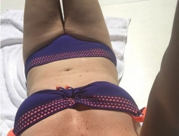 Julia Morris posted a selfie that would make Kim Kardashian jealous.