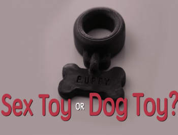 Can you tell the difference between a sex toy and a dog toy?