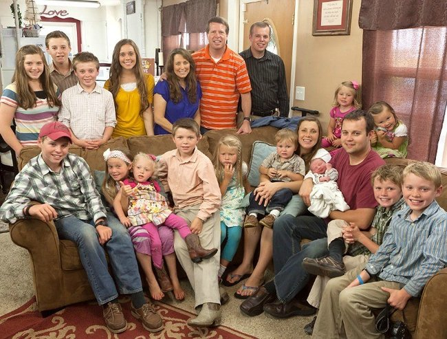 The Duggars loungeroom feature