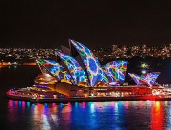LOOK: Here are all the incredible sights from the Vivid Light Festival.