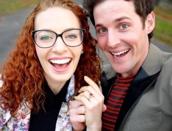 Wiggly engagement - The Wiggles Emma Watkins & Lachy Gillespie - high res avail on request