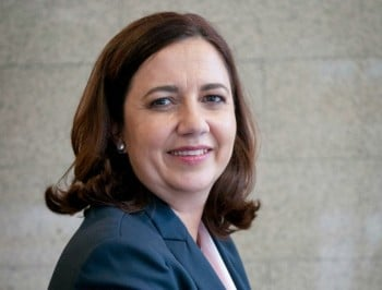 """Don't suffer in silence."" The QLD Premier talks about her battle with endometriosis."