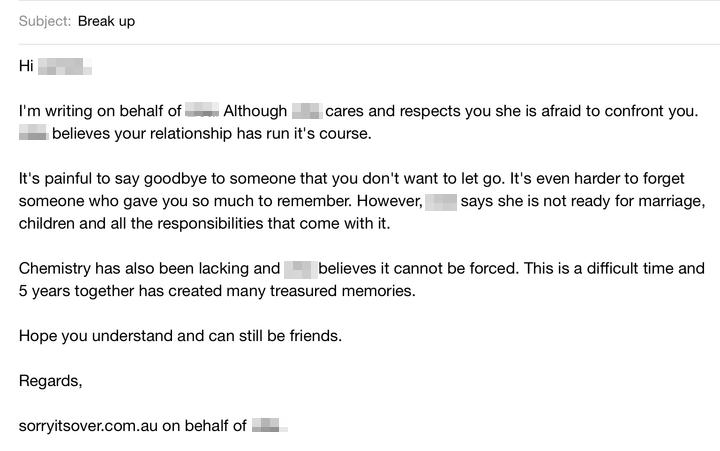 breakup emailpix