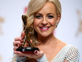 The two things Carrie Bickmore is most proud of today.
