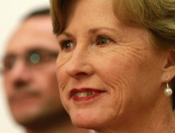 BREAKING: Christine Milne has resigned.