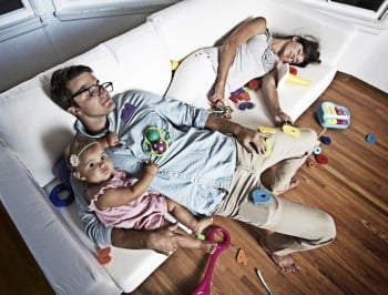 a day in the life of a parent