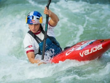 Jessica Fox has won 2 world championships and an Olympic medal. She