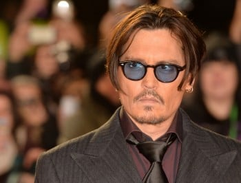 Johnny Depp leaving Australia