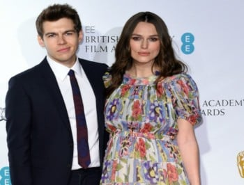 Baby news! Congratulations to Keira Knightley and her husband husband James Righton.