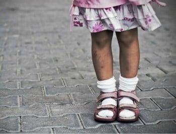 little girl legs