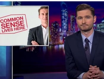 Charlie Pickering skewers the anti-halal movement. And it