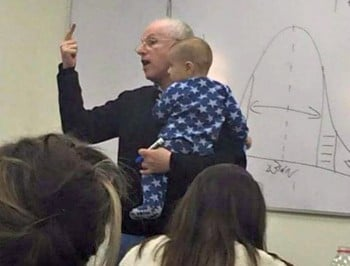 Legendary: The professor who quietly stood up for a student mother.