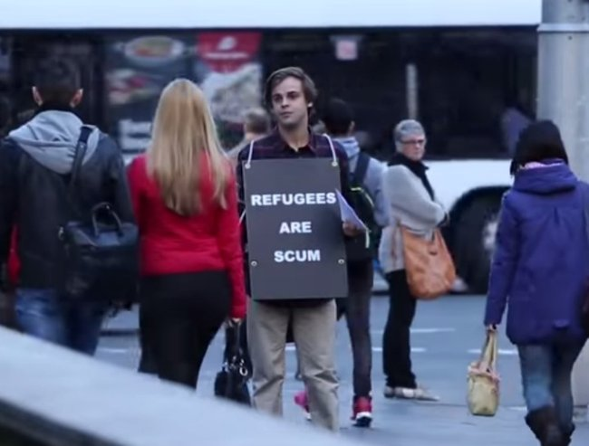 refugees are scum feat