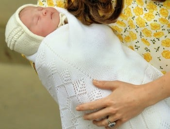 The newest Princess has a name - and it is beautiful.