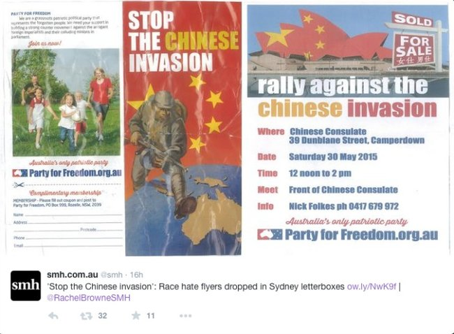 stop chinese invasion
