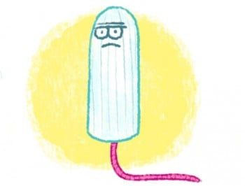tampon cartoon