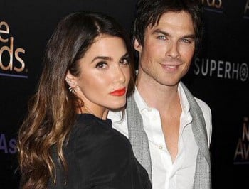 """You are my every dream brought to life"" Nikki Reed and Ian Somerhalder"