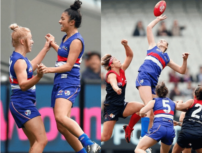 female afl melbourne