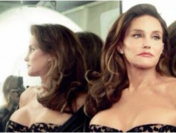 Caitlyn Jenner shares her first candid photo.
