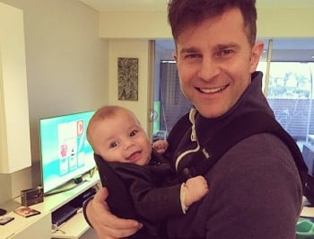 David Campbell has made a very famous choice for his baby