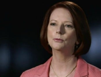 """Julia Gillard alleges Kevin Rudd was """"physically"""" intimidating towards her. Kevin Rudd says she is a liar."""
