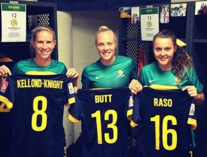 The Matildas win