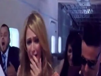 paris hilton plane crash prank