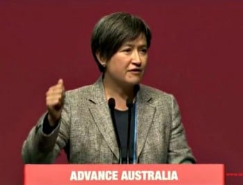 The speech that had Penny Wong in tears.