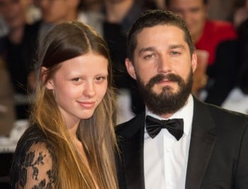 Shia Labeouf tells his girlfriend she