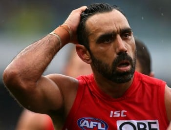 We should not be booing Adam Goodes. We should be celebrating him.