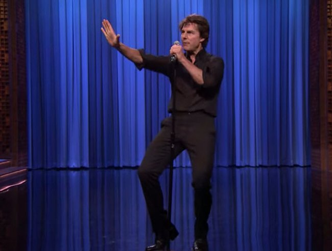 Tom Cruise lip sync