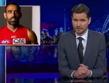 In 3 minutes, Charlie Pickering perfectly explains why booing Adam Goodes IS racist. .