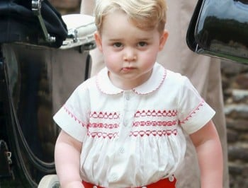 prince george birthday present