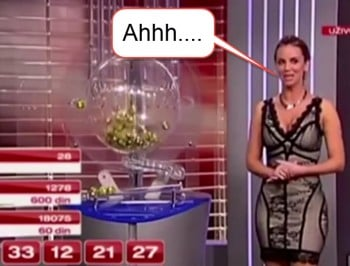 Whoops: Lottery announced winning numbers before they were drawn.