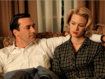Betty and Don Draper feature