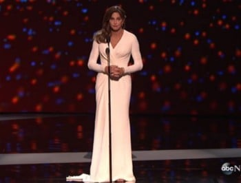 Caitlyn Jenner just gave the speech of her life.