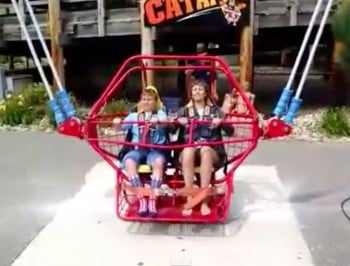 catapult ride breaks