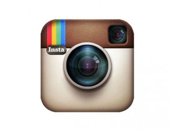 Instagram logo feature