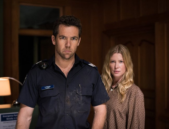James (Patrick Brammall) and Kate (Emma Booth)