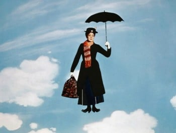 The Royal Nanny is basically Mary Poppins.