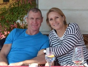 Phil Walsh and wife feature