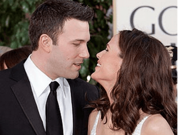 NO. Ben Affleck and Jennifer Garner are divorcing.