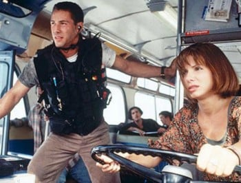 Speed Sandra Bullock bus feature