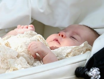 Princess Charlotte was just christened in a beautiful ceremony.