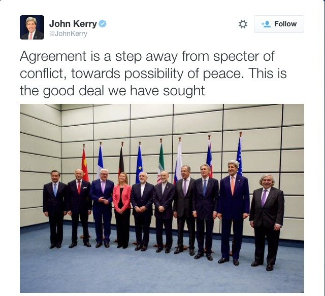 john kerry tweet