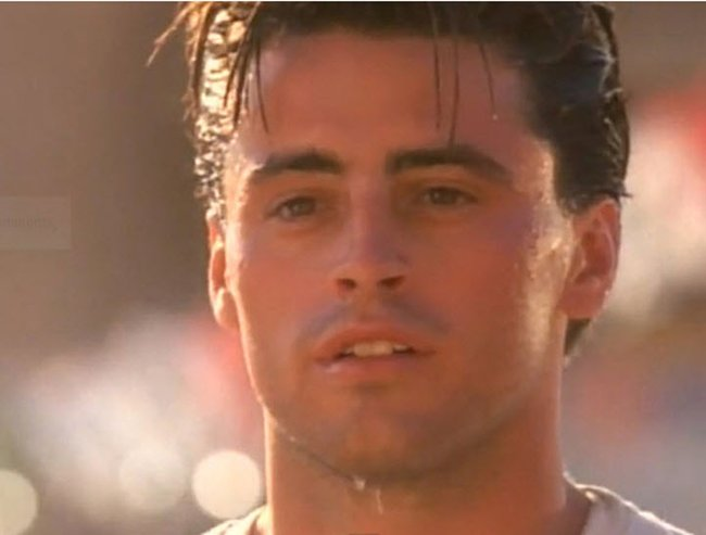 Matt LeBlanc also starred in a Bon Jovi vid