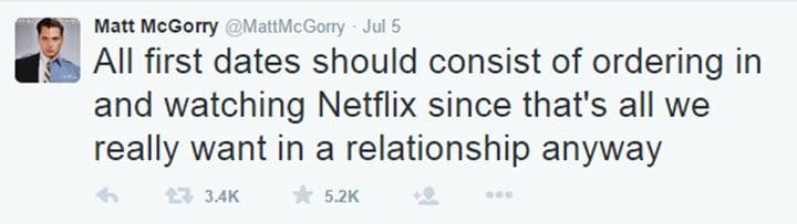 The Matt McGorry Twitter account is feminist gold