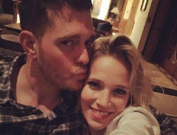 michael buble expecting second baby